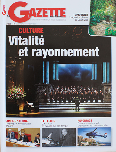 TEDxMonteCarlo in the Gazette de Monaco